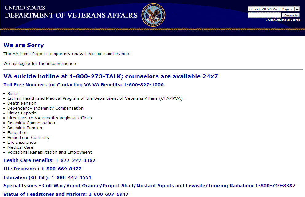 Local Fort Worth VA Clinic Contact Page